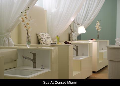 Conrad Miami Spa The Spa at Conrad Miami